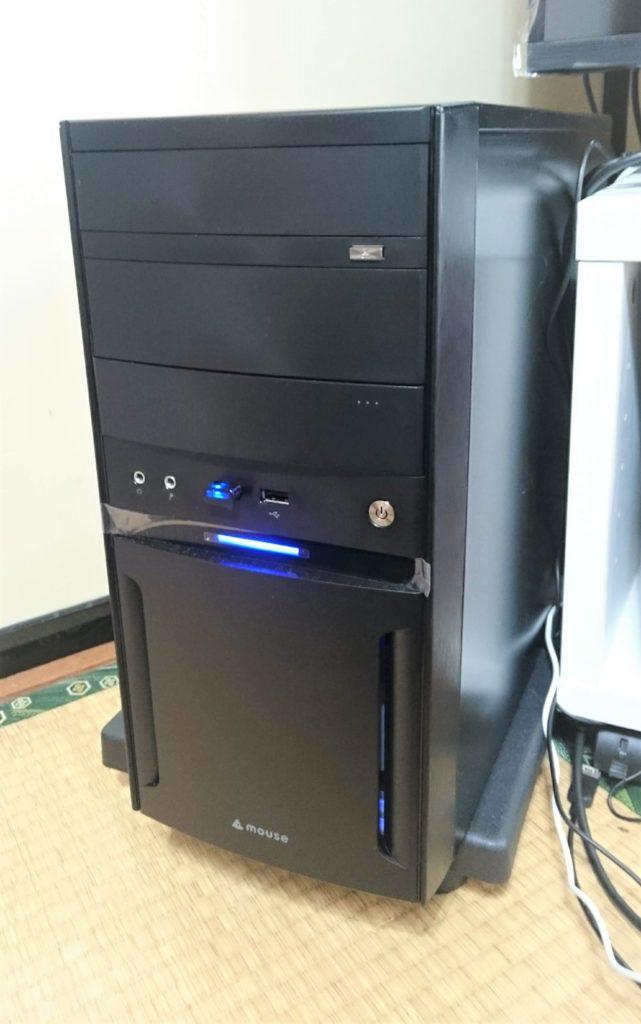 マウスコンピューターのパソコン